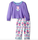 Kyпить Peppa Pig Girl's Purple Long Sleeve Purple Pajama Set на еВаy.соm