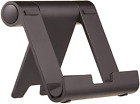 Basics Multi-Angle Portable Stand for iPad Tablet, E-reader and Phone - Black