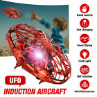 360° Mini Drone Smart UFO Aircraft for Kids Flying Toys RC Hand Control Xmas UK