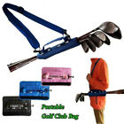 Mini Golf Club Bags Stand Travel Carrier Bags Carry Case Hold 3-6 Clubs 3 Colors