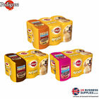 Pedigree Dog Food Tin Mixed Selection In Gravy, Jelly, Or Loaf - 6 Tins Per Pack