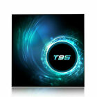 T95 4K Android 10 CORE 4GB+128GB TV BOX 2.4/5G WIFI HDMI 3D  Home Media Streamer