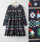 NWT Hanna Andersson Gnome Sweet Gnome Girls Nightgown Christmas Gown 2 3 8 10 12