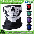 Ghost Skull Face Mask Balaclava Scarf Neck Fishing Shield Sun Gaiter UV Headwear