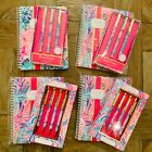 Lilly Pulitzer Notebook and Pens Set, Stationary Office Supplies Planner