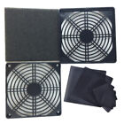 Pc Case Cooling Fans Magnetic Dust Filter Mesh Net Cover For Pc Case Cooling Fa*