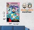 Marvel Secret Wars #7 1984 Cover Wall Poster Multiple Sizes 11x17-24x36