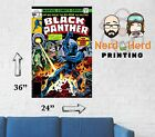 Black Panther #2 Cover Marvel Wall Poster Multiple Sizes and Papers 11x17-24x36