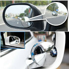 2pcs Blind Spot Removal Mirror Car Wide-angle Convex Mirror Blind Spot Mirroyjca
