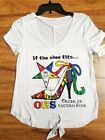 ORDER OF EASTERN STAR BLOUSE OES WHITE SHORT SLEEVE TOP T-SHIRT BLOUSE