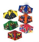 Kids Ages 4-5/6-9/9-12, Reusable Face mask Triple-Layer Cloth Face Covering