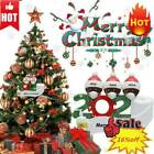 2020 Xmas Christmas Tree Hanging Pendant Ornaments Family Ornament Decor Gift