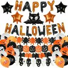 Halloween Balloon Arch Garland Kit Balloons Black Orange Latex Party Decorations