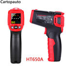 HT650A/B/C Handheld Non-Contact Pyrometer Digital Infrared Laser Thermometer LCD