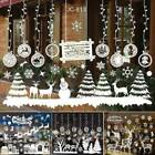 Christmas Xmas Vinyl Window Wall Stickers Decal Snowman Removable Home Decor New