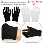 USA Cotton Lightweight Thin Working Gloves for Coin Jewelry Silver Inspection HQ