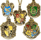 Harry Potter 4 House Hogwarts Necklace Gryffindor Book Week Costume Accessories