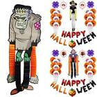 Halloween Happy Balloons Costumes Garland Set Home Club Party Fancy Dress Props