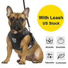 Small Dog Pet Breathable Mesh Harness Vest Collar Chest Strap Adjustable Leash