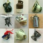 D94 DRINKWARE ORNAMENTS each priced separately MANY CHOICES Cup Servers Jug Pot