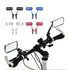 1 Pair Bike Bicycle Cycling Handlebar 360° Rotation Rearview Rear View Mirror