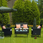 Rattan Garden Furniture Set 4 Piece Chairs Sofa Table Seater Patio Conservatory