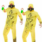 Breaking Bad Walter White Chemical Suit Overall Infection Hazmat Fancy Dress Boi