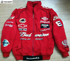 2020 Budweiser Red Black Embroidery EXCLUSIVE F1 JACKET suit team racing
