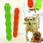 UK❤❤NEW Durable Dog Chew Toys Bone for Aggressive Chewers Indestructible Rubber~