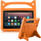For Amazon Fire HD 10 8 7 2019 9th Gen Tablet Kids Foam Handle Stand Case Cover