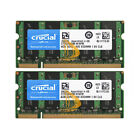 Crucial 8GB4GB2GB 2RX8 PC2-6400 DDR2-800MHz DDR2 200pin SODIMM Laptop Memory lot