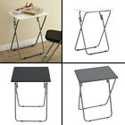 MDF Portable Picnic Camping Table Indoor Outdoor Wooden Folding Table Small Desk