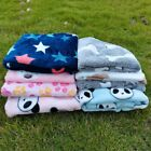 Cute Pet Blanket Dog Bed Mats Soft Fleece Warm Puppy Cat Sofa Cushion Home Rug