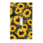 Sunflower Camo Print Light Switch Cover, Home Décor, Night Light, Cabinet Knob