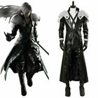 Final Fantasy Costume FF VII 7 Remake Sephiroth Cosplay Halloween Outfit Jacket