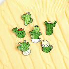 Children's Cactus Brooch Cute Funny Plant Enamel Pins Fashion Backpack Badge