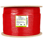 trueCABLE Cat6A Shielded Riser, 1000ft, 23AWG Solid Bare Copper Ethernet Cable