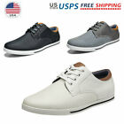 Mens Fashion Sneakers Casual Shoes Oxford Shoes Lace up Comfort Dress Shoes
