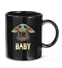 Baby #Yoda Chases Frogs movie film #Star tv War Coffee Mug