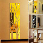 Removable 3d Tree Mirror Wall Sticker Removable Diy Art Decal Home Decoration