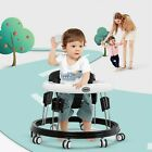 Foldable Baby Walker Adjustable Height Music Function Toddler Activity Toy Gifts