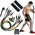 Home Fitness Exercise Resistance Bands Latex Tubes Yoga Elastic Pull Rope Set