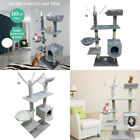 Cat Tree Scratching Post Kitten Activity Centre Bed Toys Scratcher Tower gf