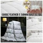 'Goose Feather & Down Duvet Quilt Cover Extra Soft Warm Luxury Bedding 15 Tog