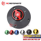 REVO CNC Quick Release Gas Fuel Cap For Ducati Monster 1200 R 14-19 Monster 821