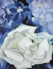HandPainted Georgia Totto O'Keeffe Flower Oil Painting Art Reproduction Canvas
