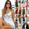 Holiday Mini Playsuit Rompers Party Casual Jumpsuit Summer Beach Shorts Women's