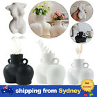 Female Body Vase Nude Ceramic Art Tabletop Flower Pot Nordic Modern Home Decor ~