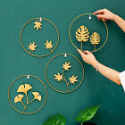 Luxury Metal Wall Hanging Ornament Retro Home Living Room Decor Accessories