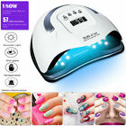 Professional LED UV Nail Dryer Gel Polish Lamp Salon Manicure Nail Art Tool 180W